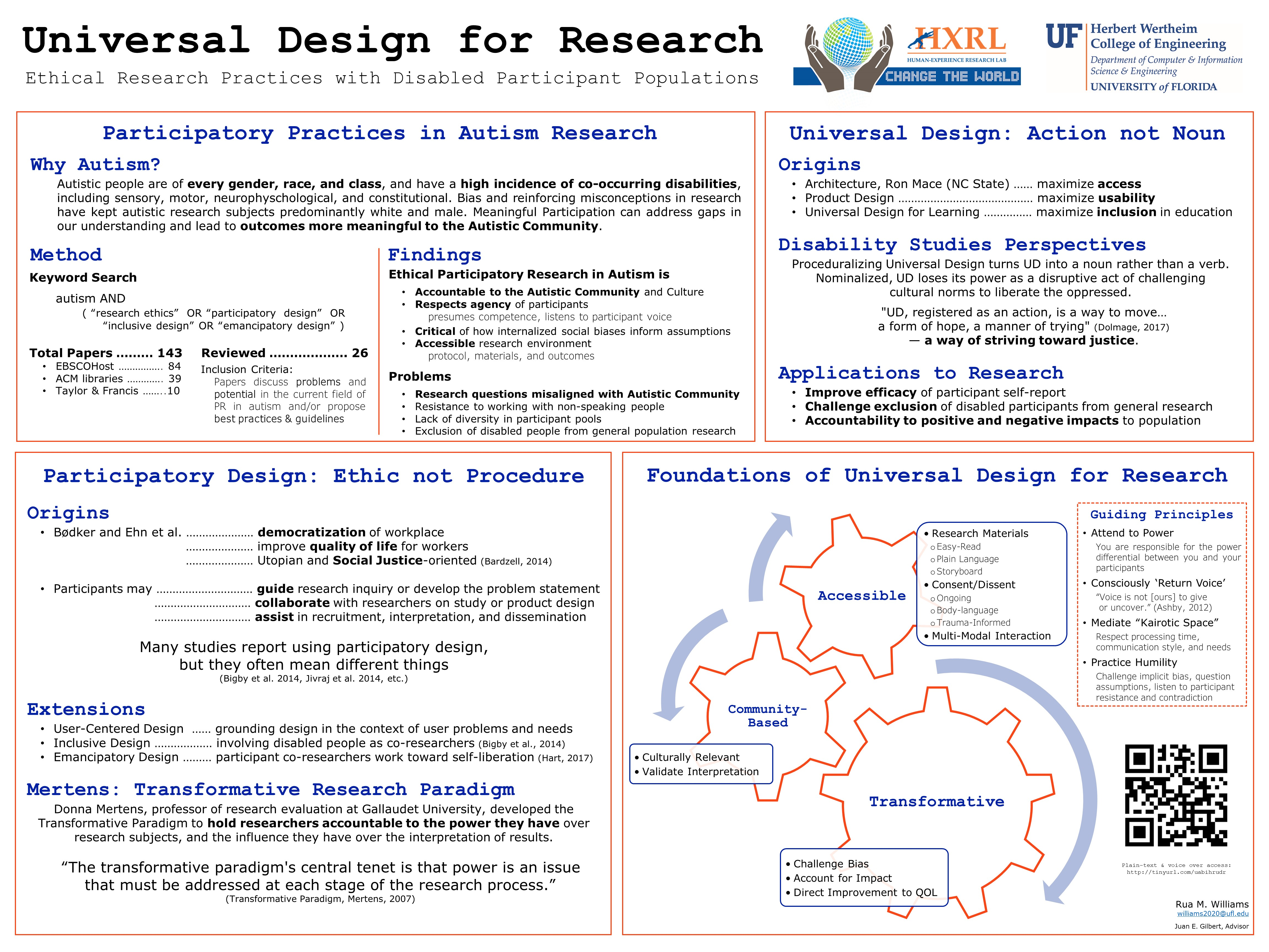 Guide to Making Accessible Research Posters